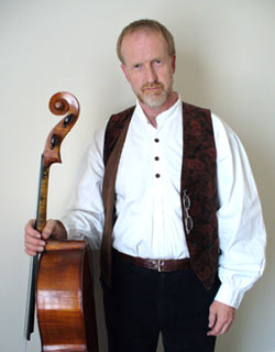 Martin Angell & his cello